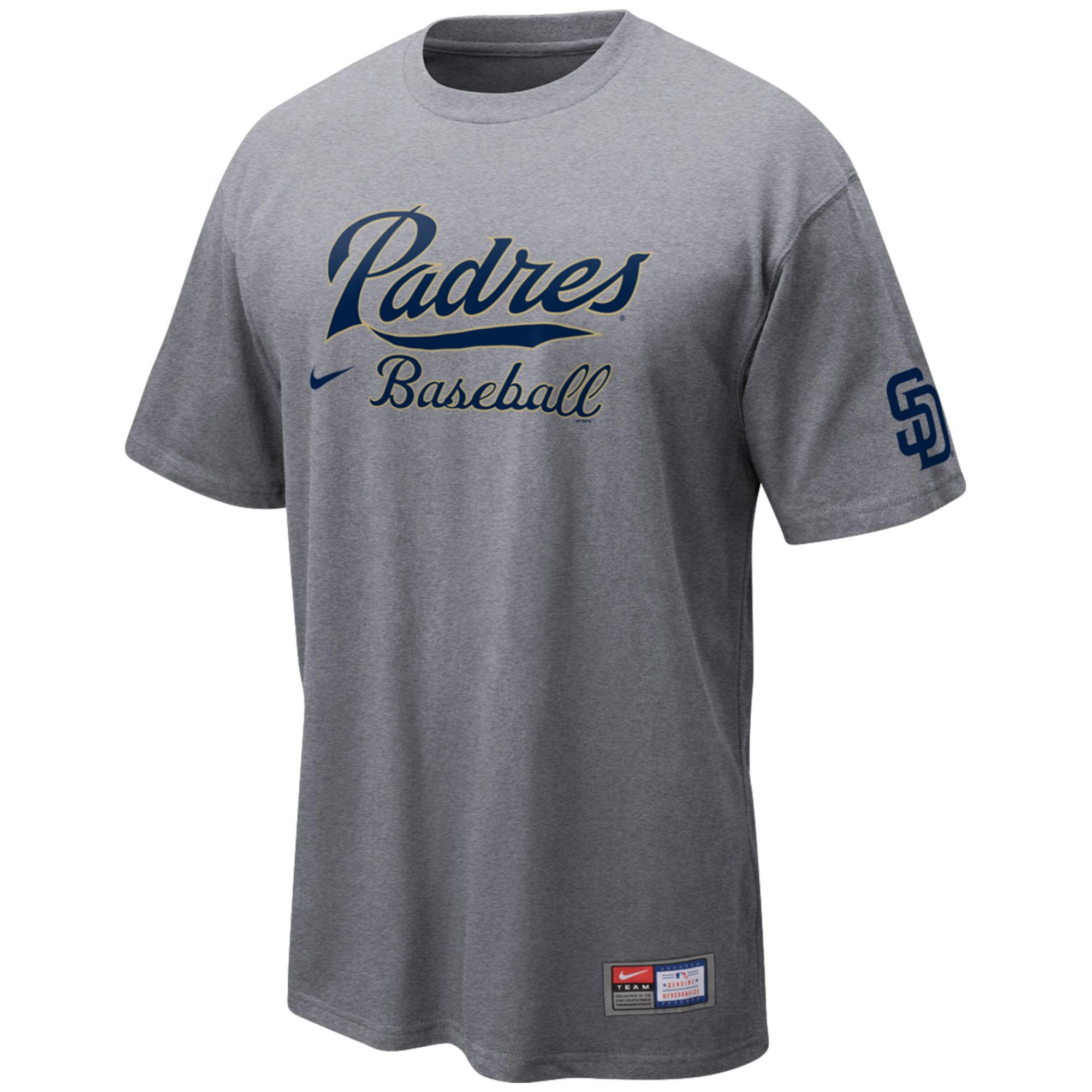 Mens San Diego Chargers Nike Navy Blue Facility T-Shirt