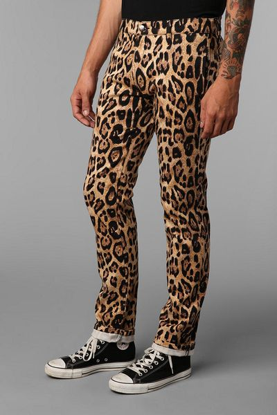 Urban Outfitters Tripp Nyc Leopard Print Topcat Pant In