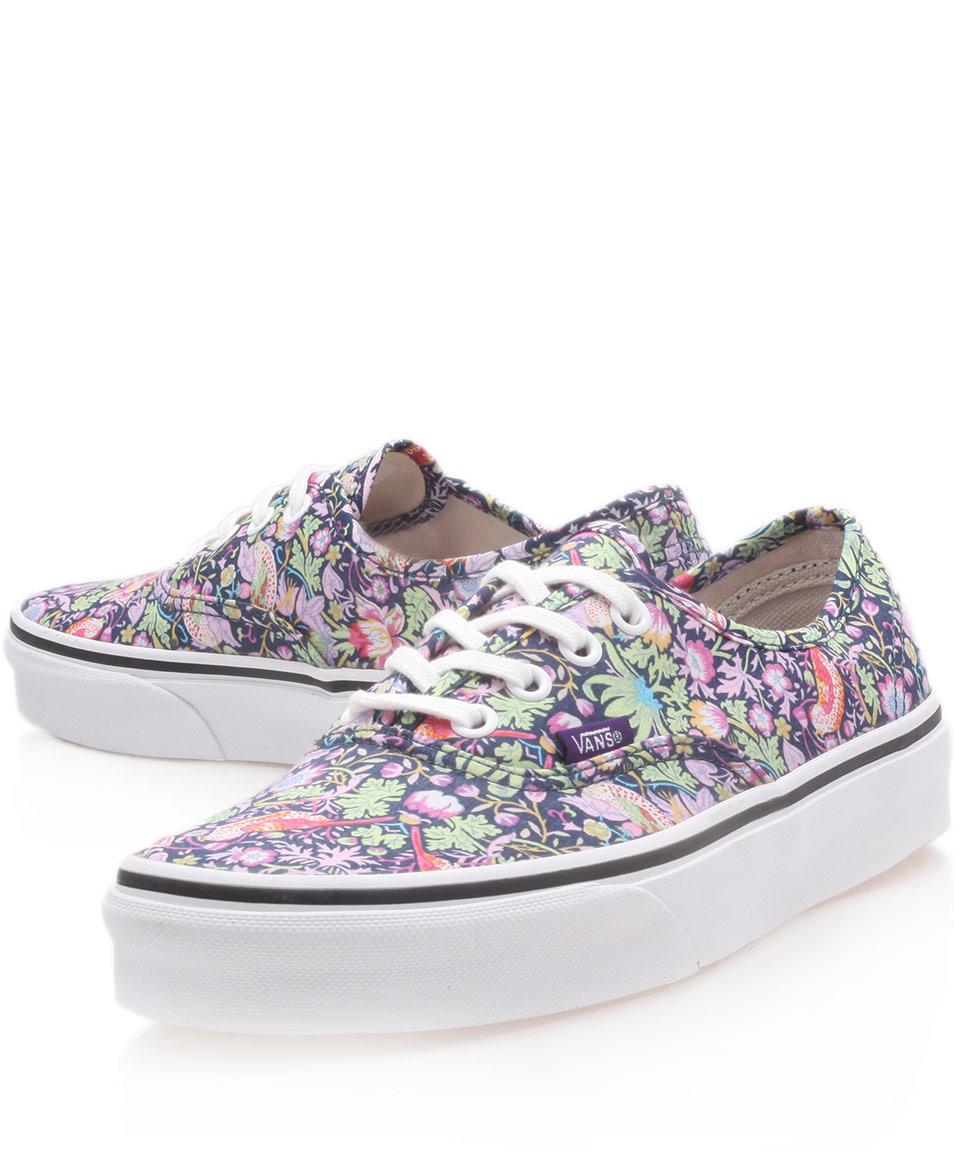 Women Liberty Floral Blue Shoes