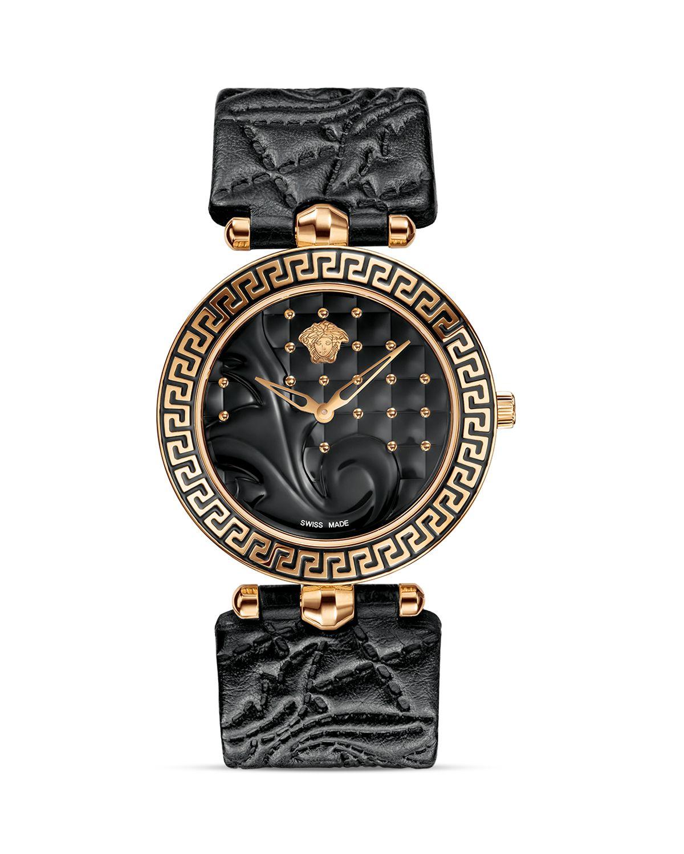 versace vanitas gold pvd with black enamel