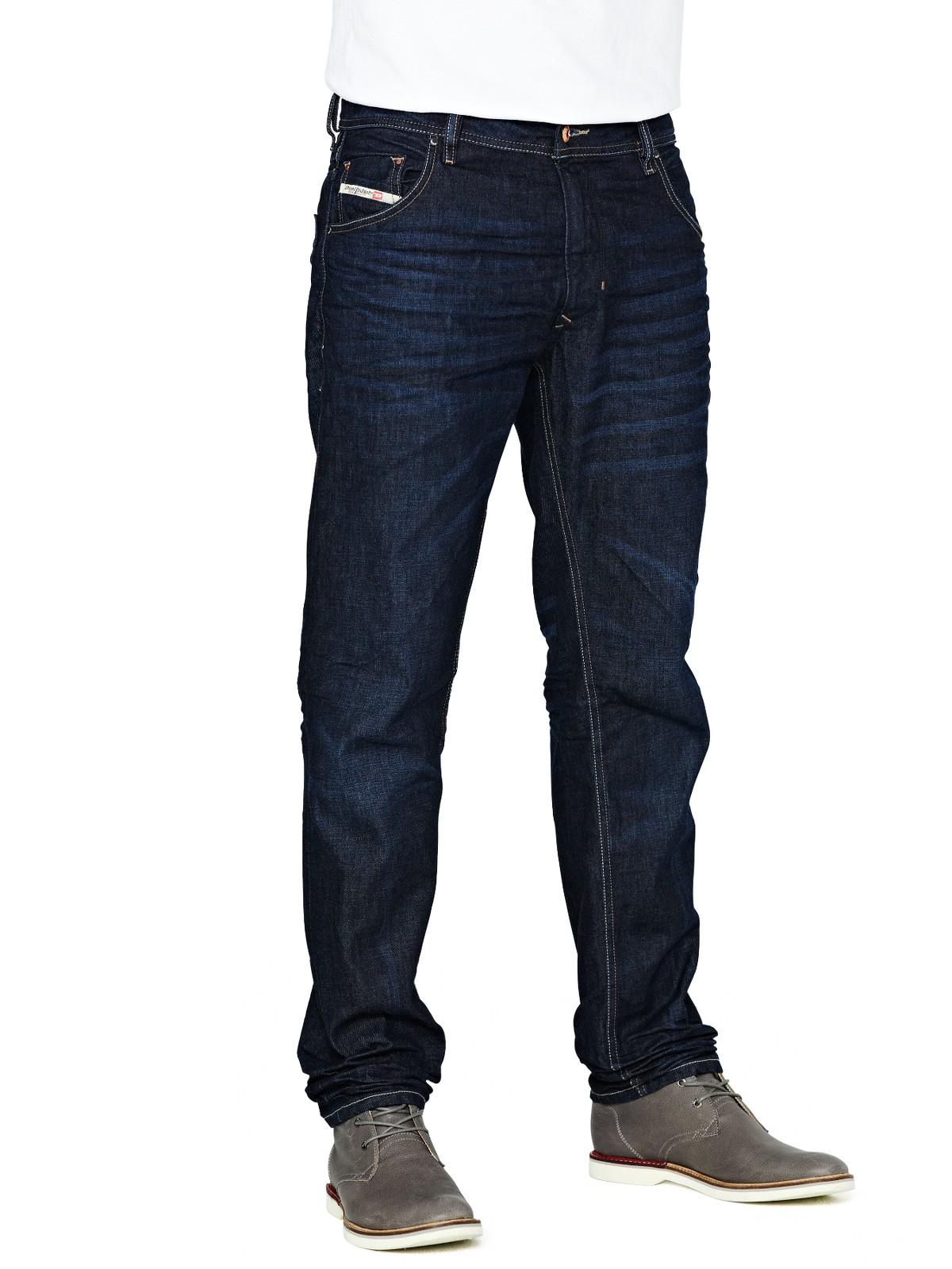 Diesel Diesel Krayver Slim Tapered Mens Jeans in Blue for Men (dark_vintage) | Lyst
