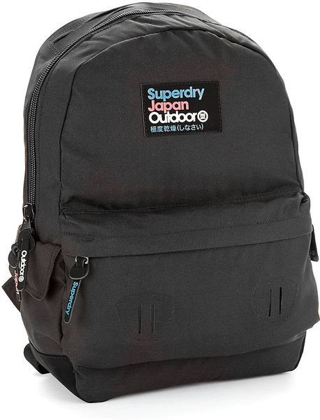 Superdry Montana Backpack In Black For Men Lyst