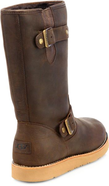 leather ugg boots tan