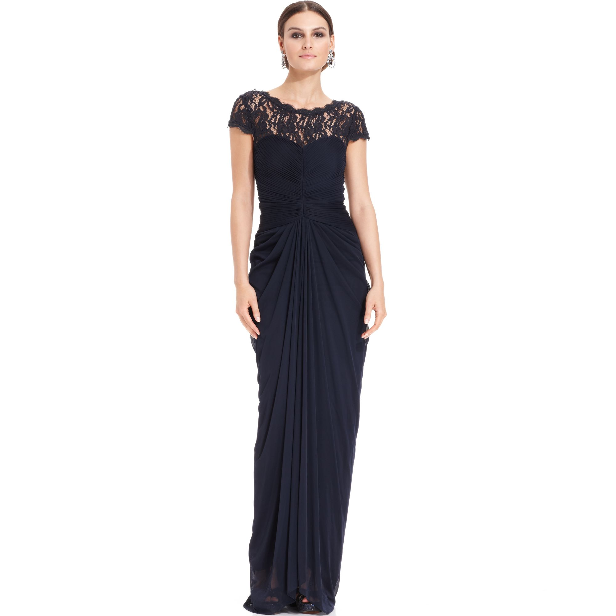 Adrianna Papell Evening Lace Dresses – Fashion dresses