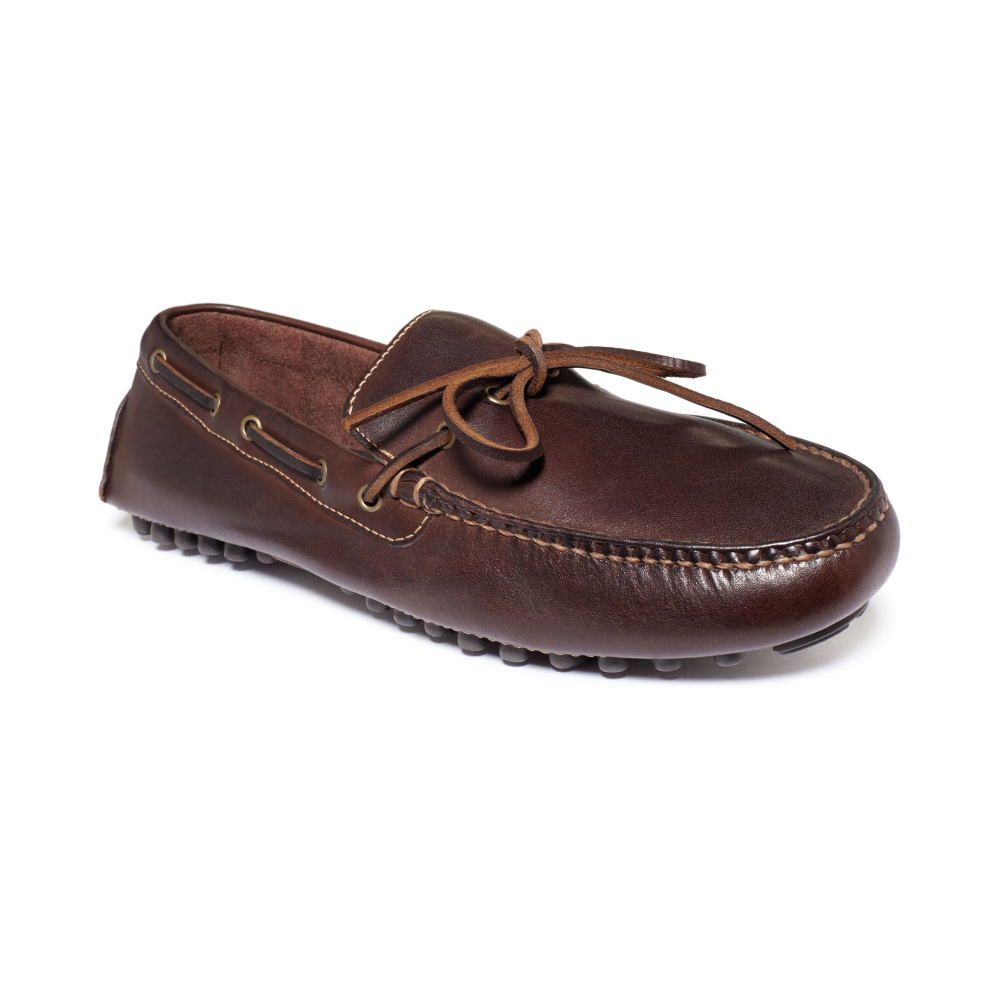 cole haan air grant loafers in brown for men tmoro lyst. Black Bedroom Furniture Sets. Home Design Ideas