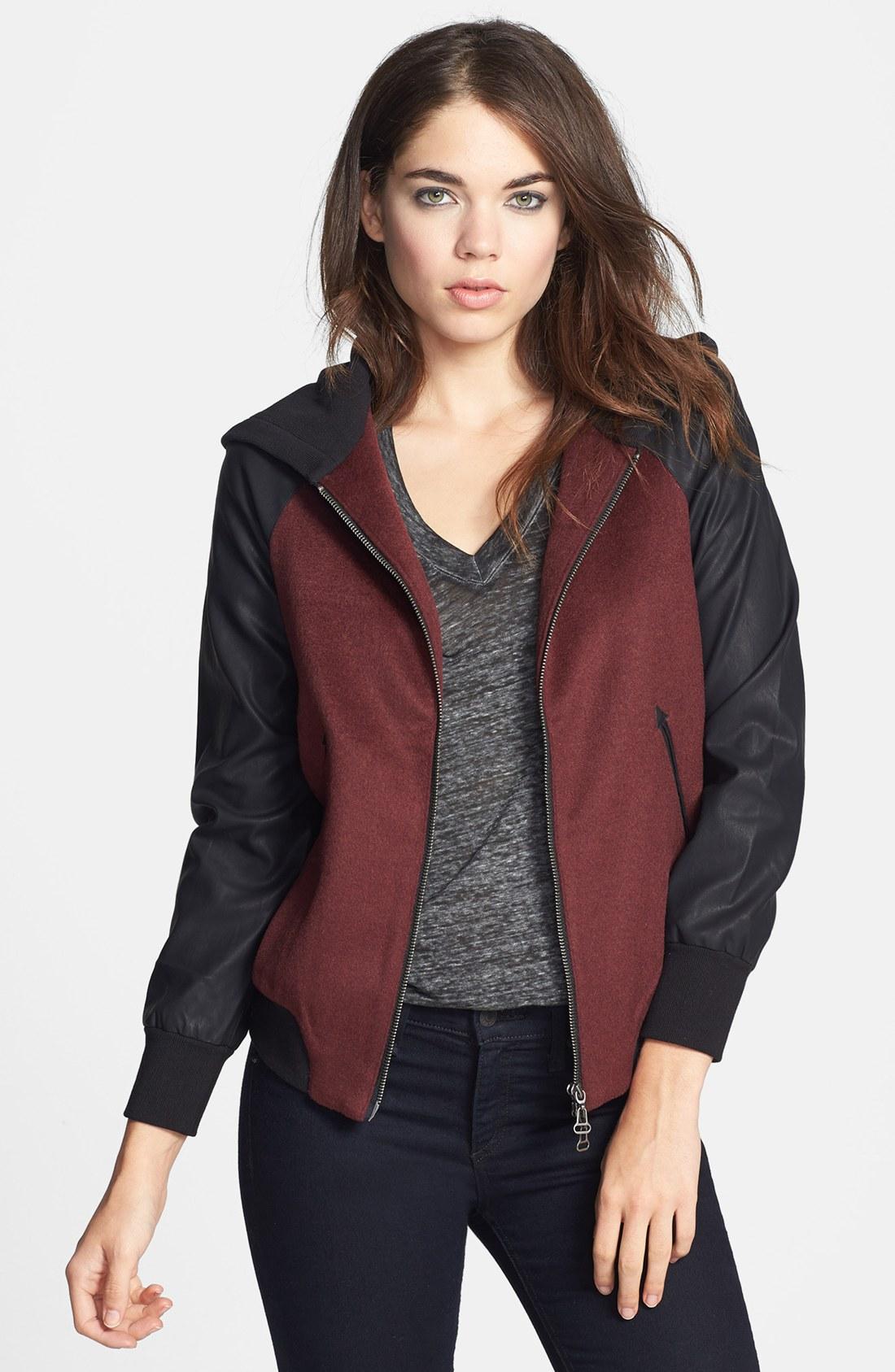 Dolce vita leather jacket