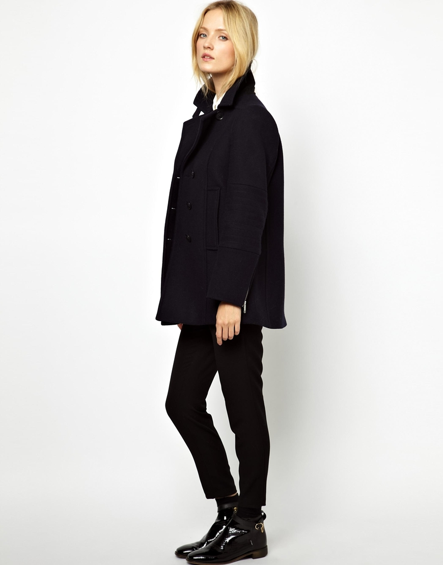 French Connection Pea Coat - Tradingbasis