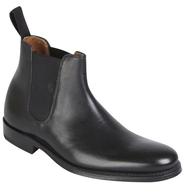 grenson womens grace chelsea boots in black lyst