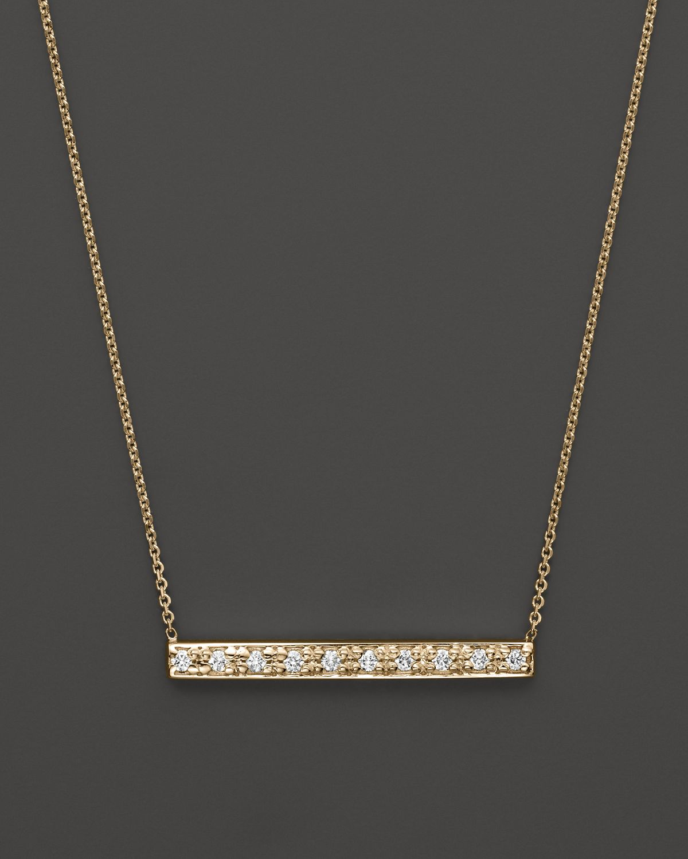 b34485c0e3fa Gold Bar Pendant Necklace With Diamond - Necklace Wallpaper ...
