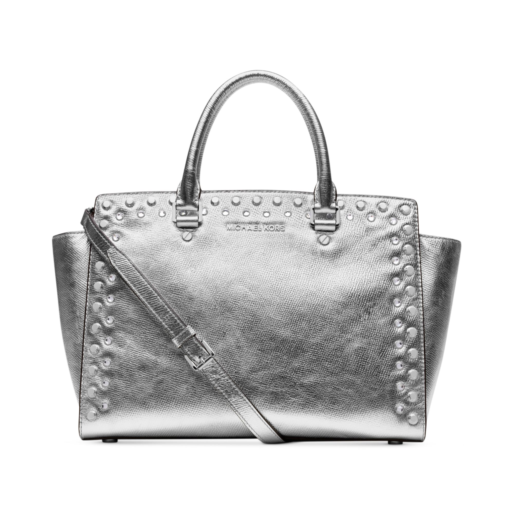 michael kors silber tasche michael kors bag is an easy choice for any fashion forward woman. Black Bedroom Furniture Sets. Home Design Ideas
