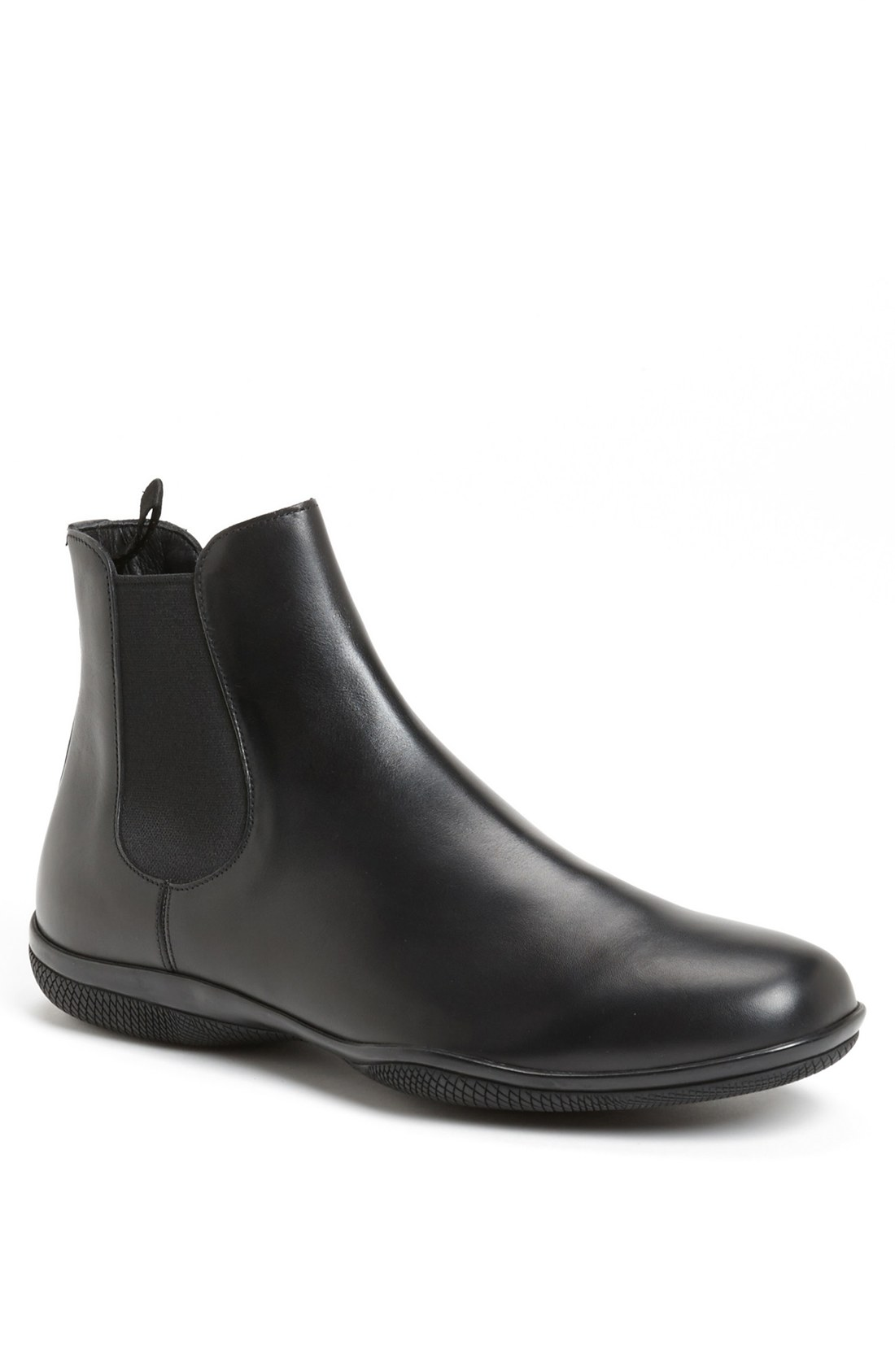 prada new toblak chelsea boot in black for lyst