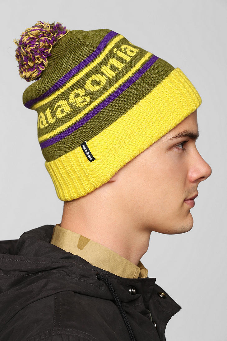 0b119d50d5 Urban Outfitters Patagonia Powder Town Beanie in Green for Men - Lyst