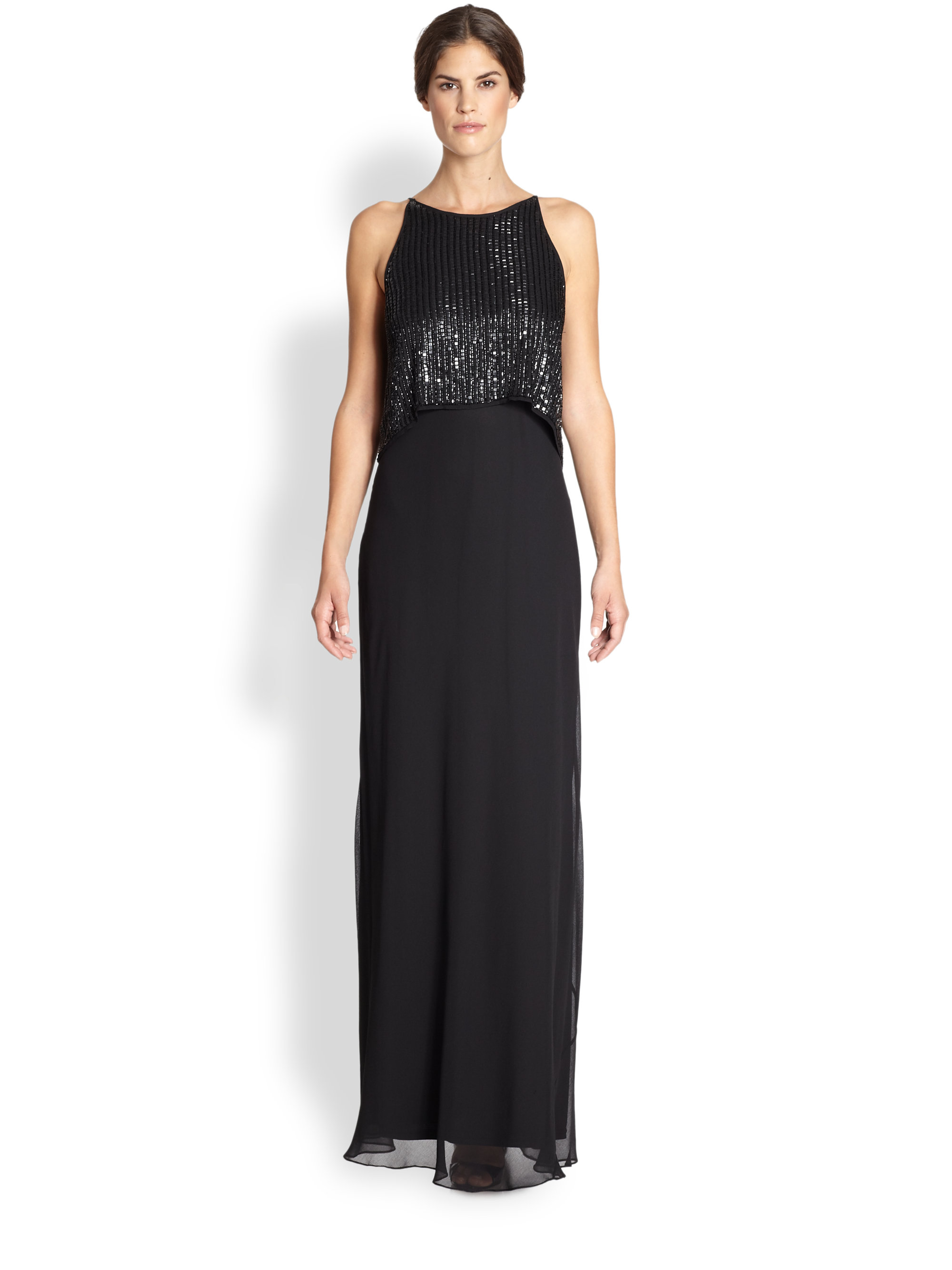 Attractive Aidan Mattox Beaded Gown Image - Wedding and flowers ...