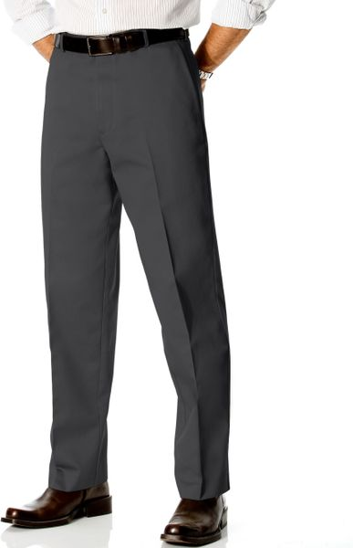 Dockers Classic Fit Stain Defender Dress Pants In Gray For