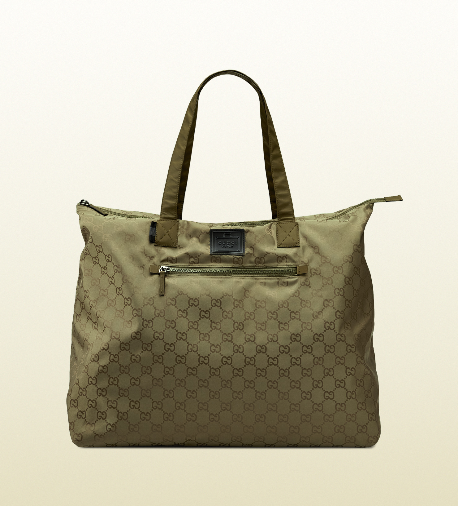 78d120392485 Gucci Gg Nylon Duffel Bag From Viaggio Collection in Green for Men ...