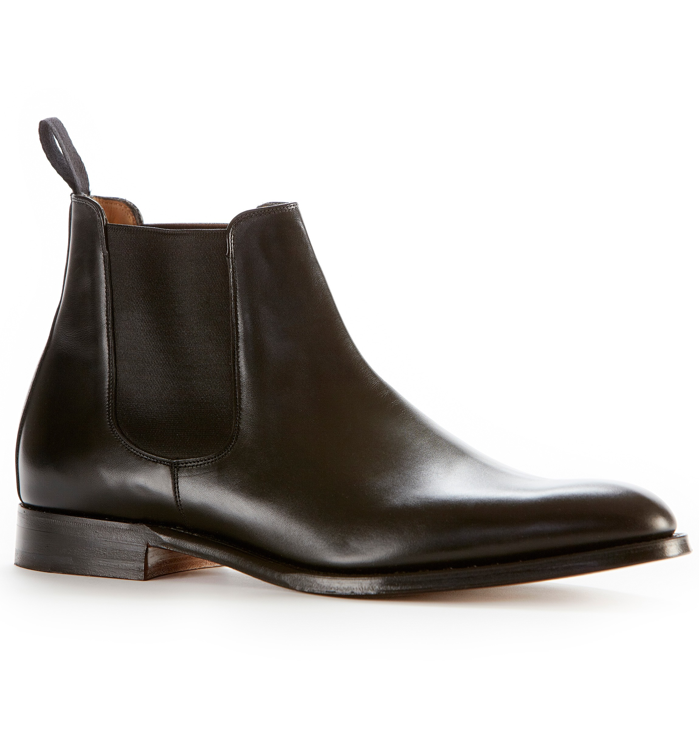 sunspel joseph cheaney chelsea boot in black for men lyst. Black Bedroom Furniture Sets. Home Design Ideas