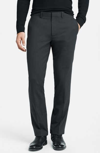 Theory Marlo New Tailor Slim Fit Pants In Gray For Men