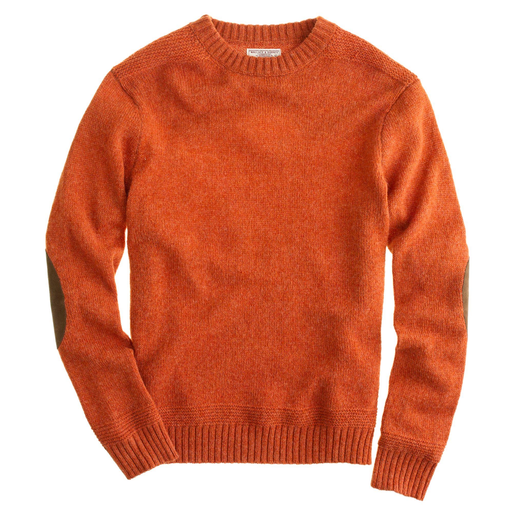 J Crew Wallace Barnes Shetland Wool Sutherland Sweater In