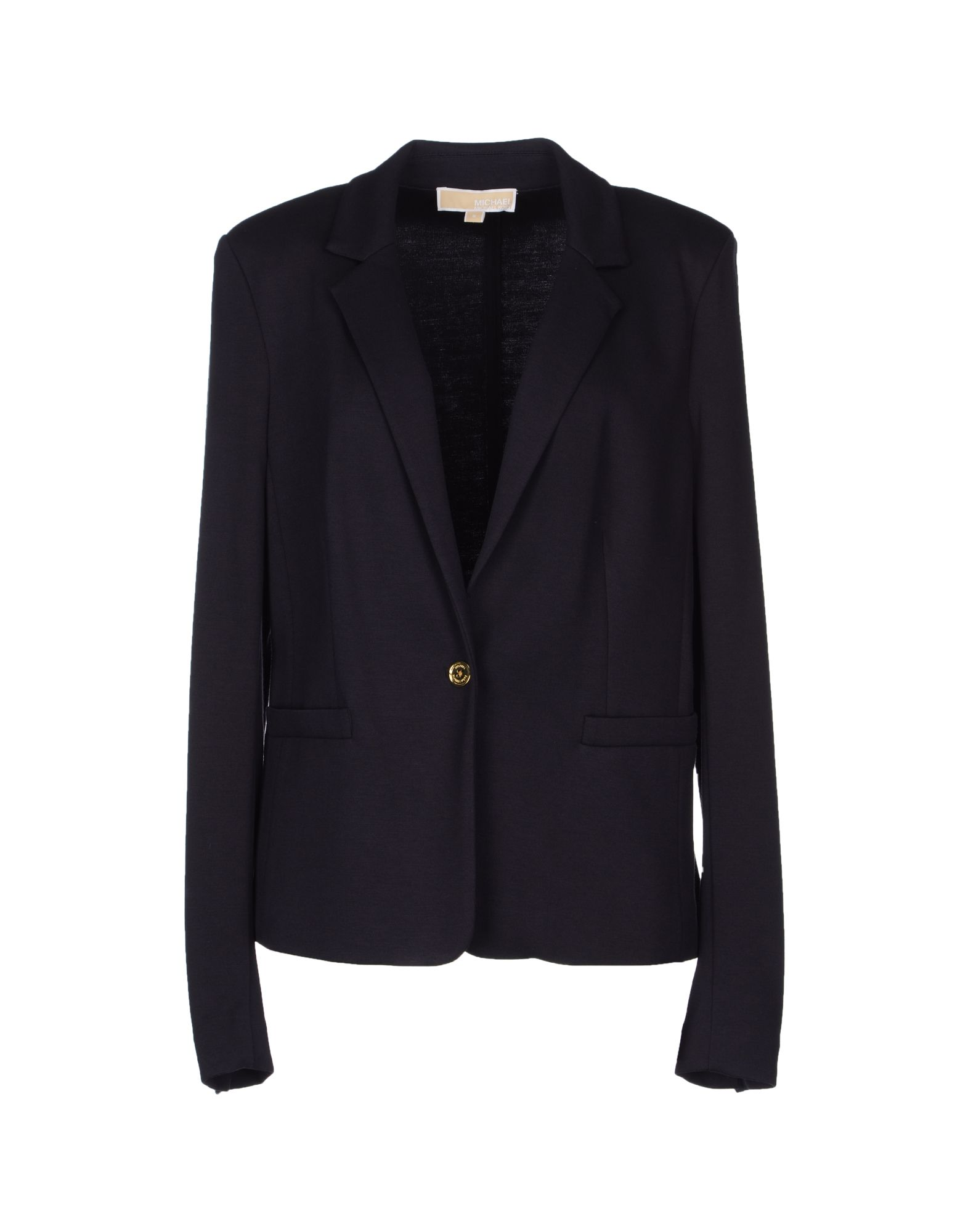 michael by michael kors blazer in blue dark blue lyst. Black Bedroom Furniture Sets. Home Design Ideas