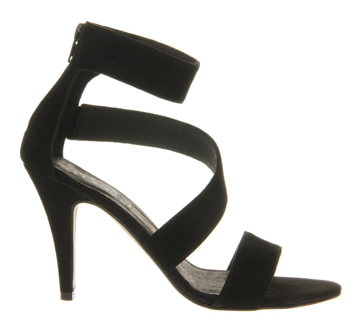 Office Late Nights Strappy Mid Heel Shoes in Black  Lyst