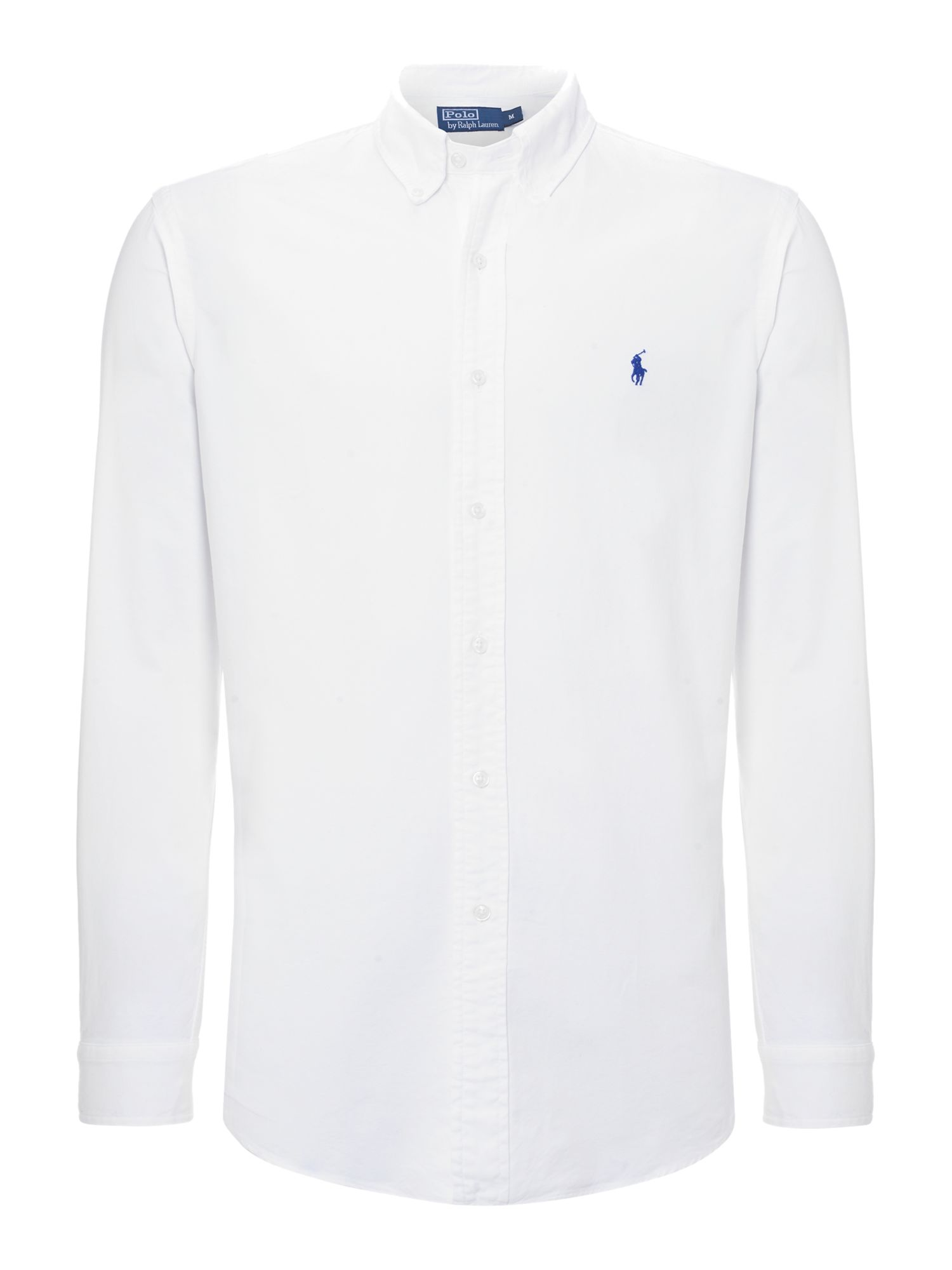 Lyst Polo Ralph Lauren Classic Oxford Shirt In White For Men