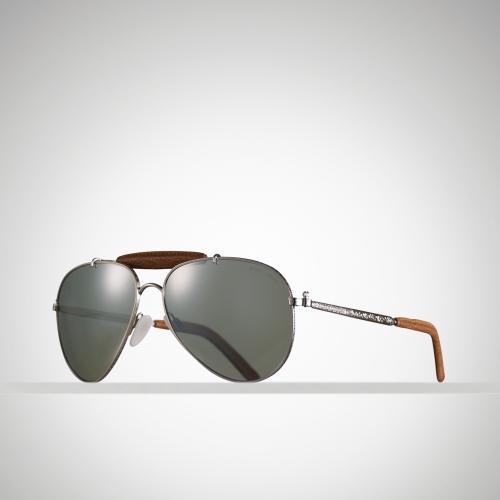Ralph Lauren Ricky Sunglasses  ralph lauren western pilot sunglasses in brown for men lyst