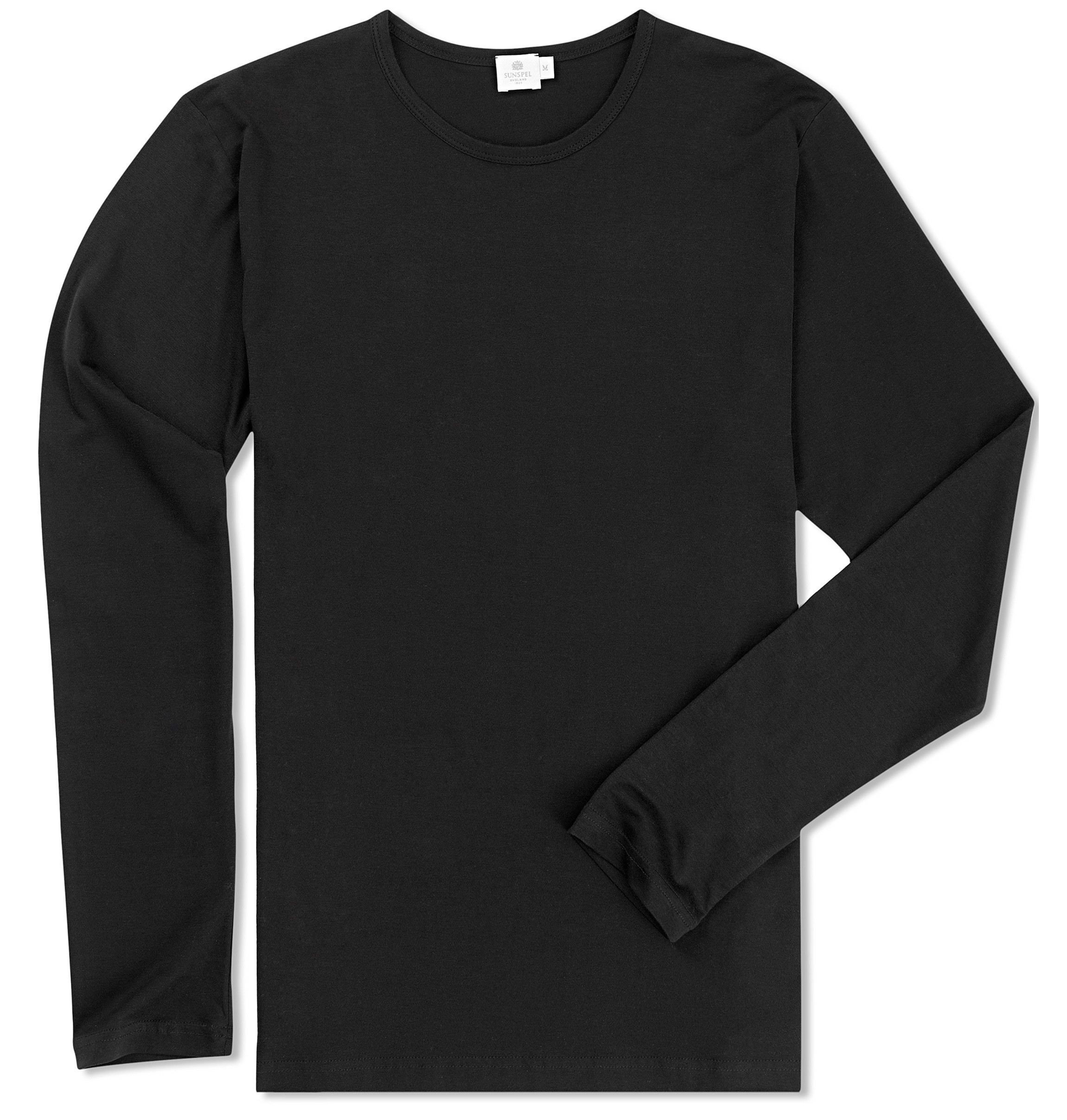 Napapijri sambuci box logo long sleeve crew neck t-shirt in black. £ Fred Perry Sports Authentic long sleeve taped ringer t-shirt in black. £ Calvin Klein Modern Cotton Long Sleeve Top. £ Polo Ralph Lauren long sleeve soft cotton top in navy. £