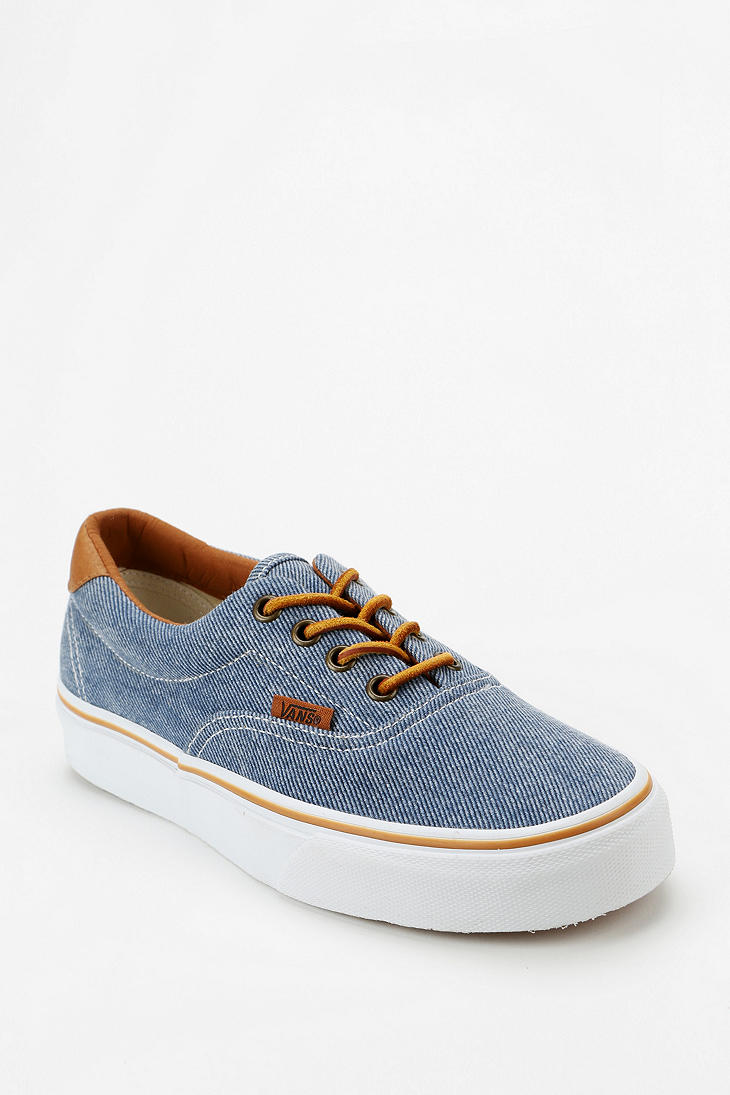 0cceccb2aea3b1 Lyst - Urban Outfitters Vans Era 59 Washed Twill Womens Sneaker in Blue