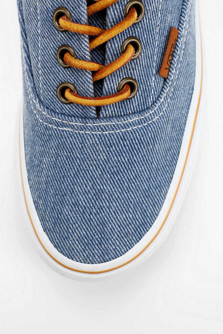 Lyst - Urban Outfitters Vans Era 59 Washed Twill Womens Sneaker in Blue a8a0ef77d9cb