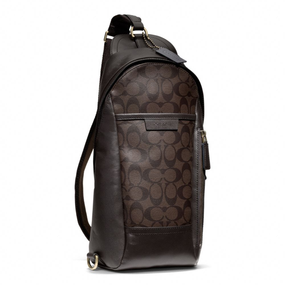 Coach Bleecker Signature Convertible Sling Pack in ...