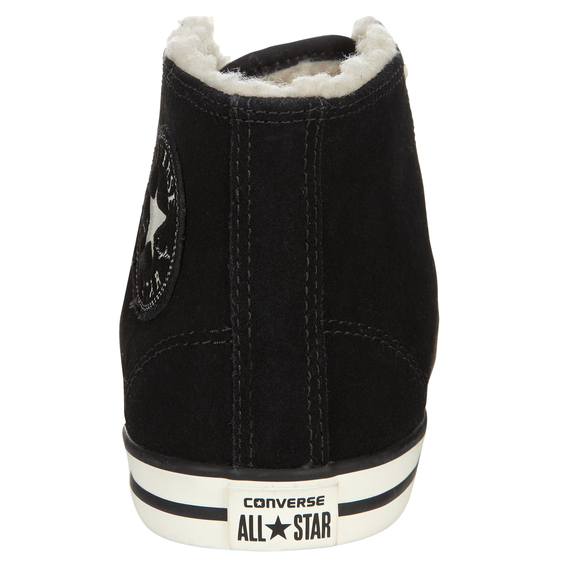 55c30bcda246 Converse Chuck Taylor All Stars Dainty Midtop Fur Lined Suede ...
