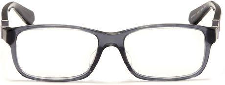 Giorgio Armani Glasses Frame Mens : Giorgio Armani Plastic Frame Glasses in Blue for Men (Blue ...