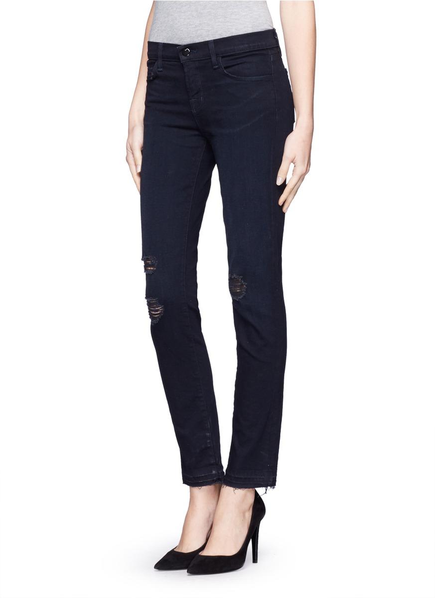 Lyst - J Brand Photo Ready Skinny Jeans in Blue - photo #47