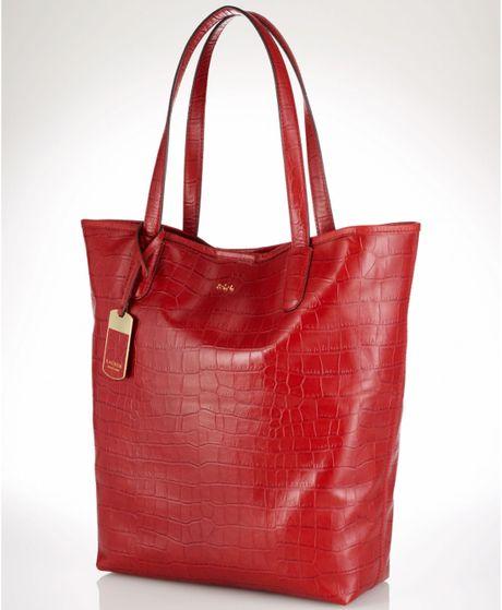 Lauren By Ralph Lauren Bag in Red - Lyst