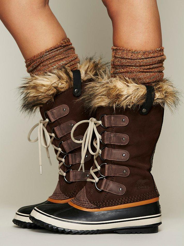 Sorel Joan Of Arctic Boot in Brown (BRN/BRUN)   Lyst