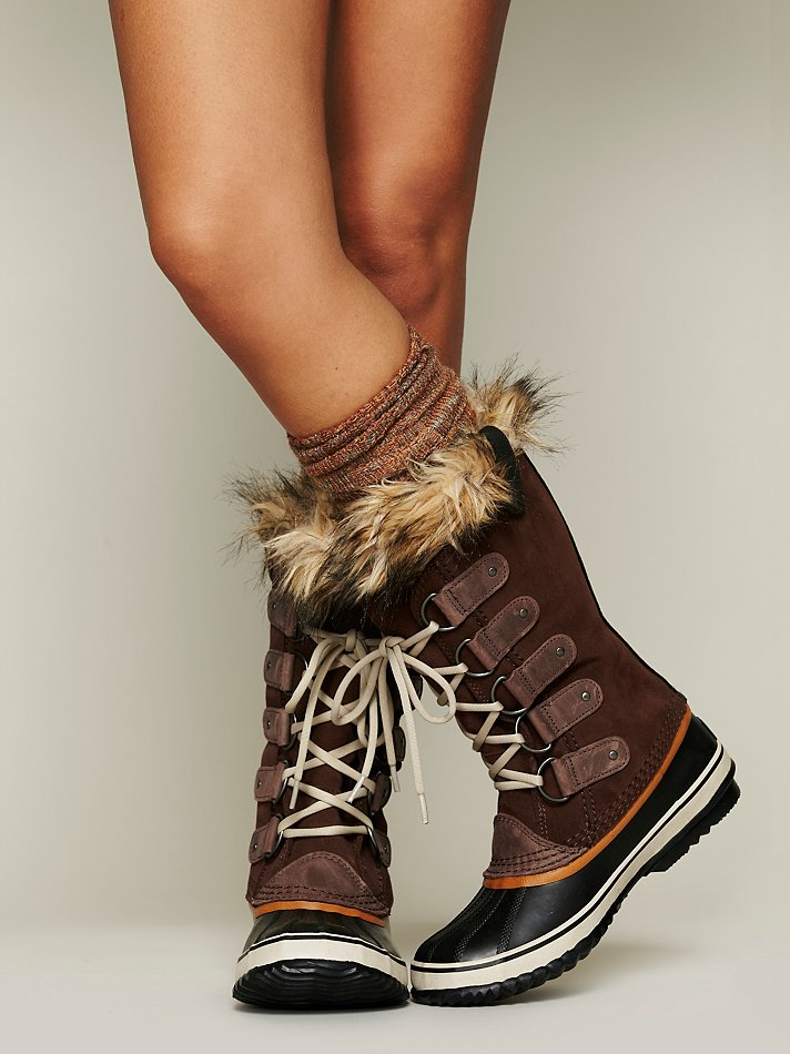 Free People Joan Of Arctic Boot In Brown Lyst