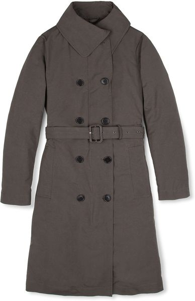 Aspesi Radio Krakovia Trench Coat in Gray (Grey)