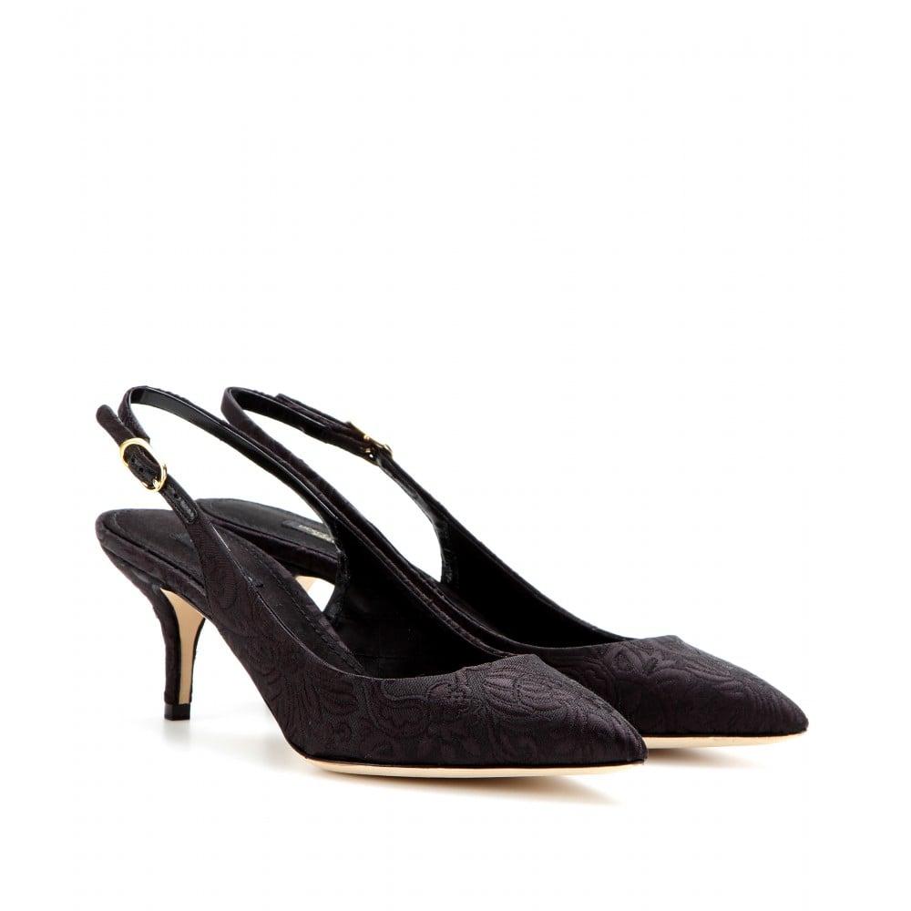 Dolce & Gabbana 'Belluci' slingback pumps HiUFgf7W