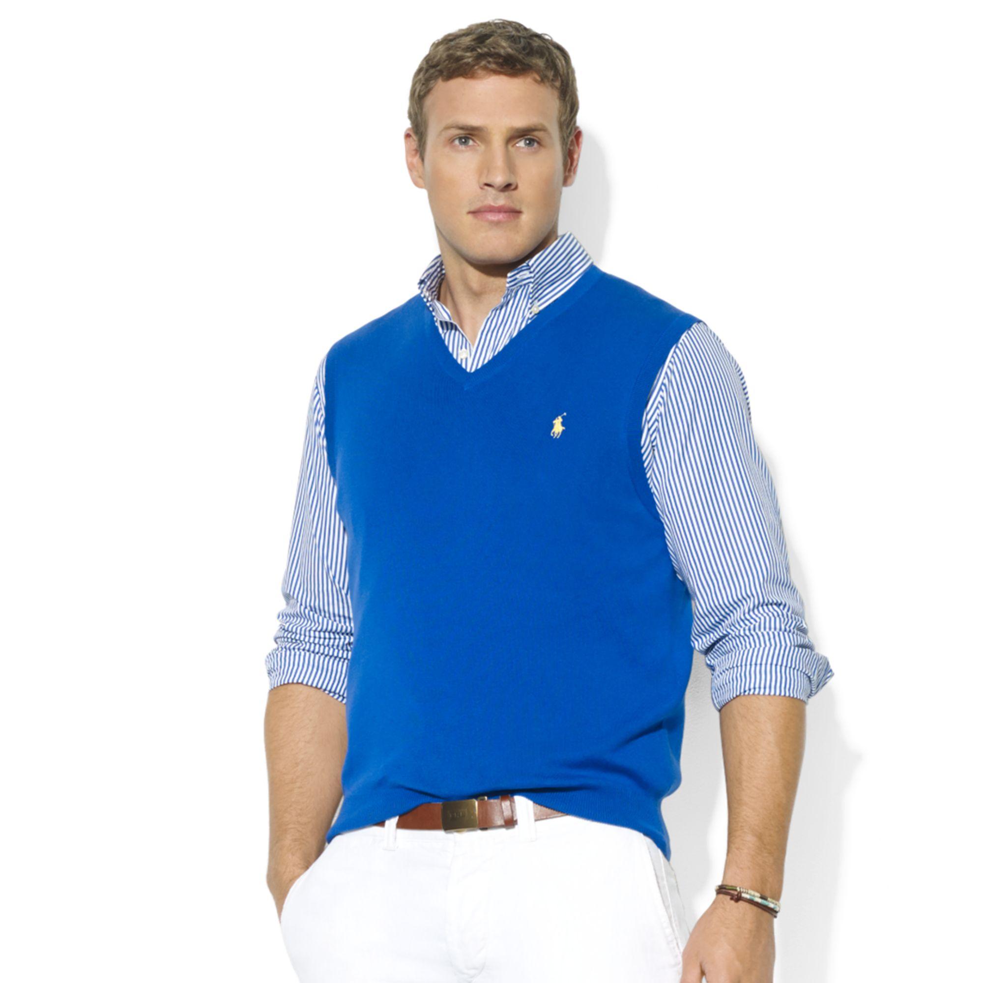 V neck sweater men fashion 1