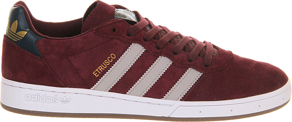 suede adidas trainers