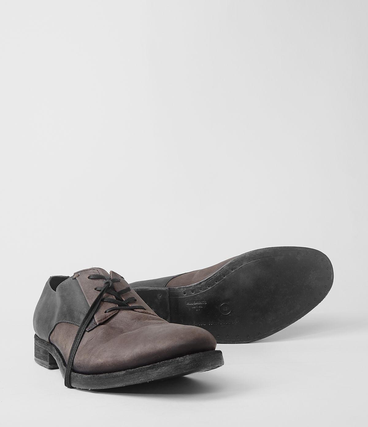 AllSaints Guard Shoe in Brown for Men