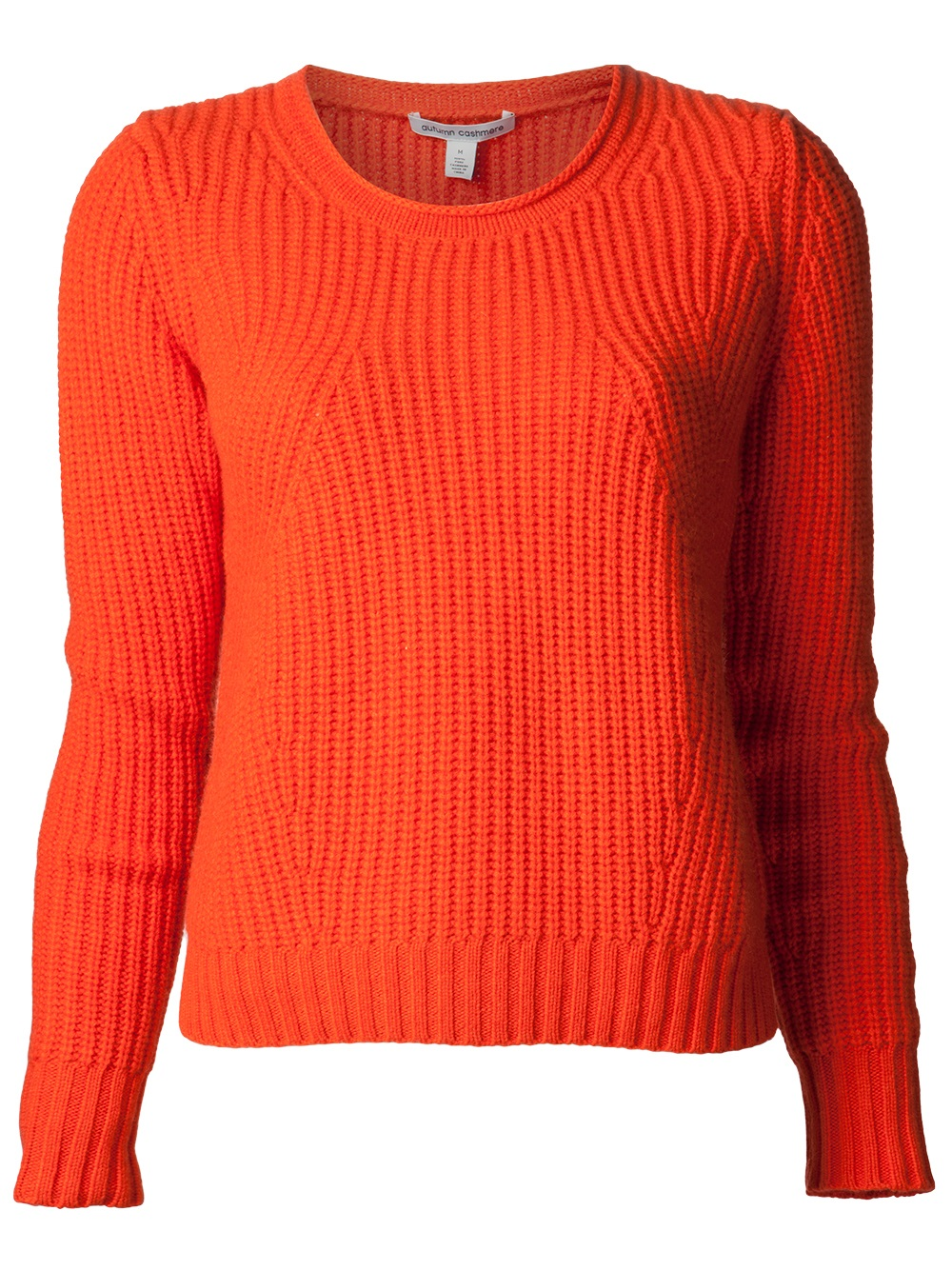 lyst autumn cashmere cashmere shaker stitch sweater in