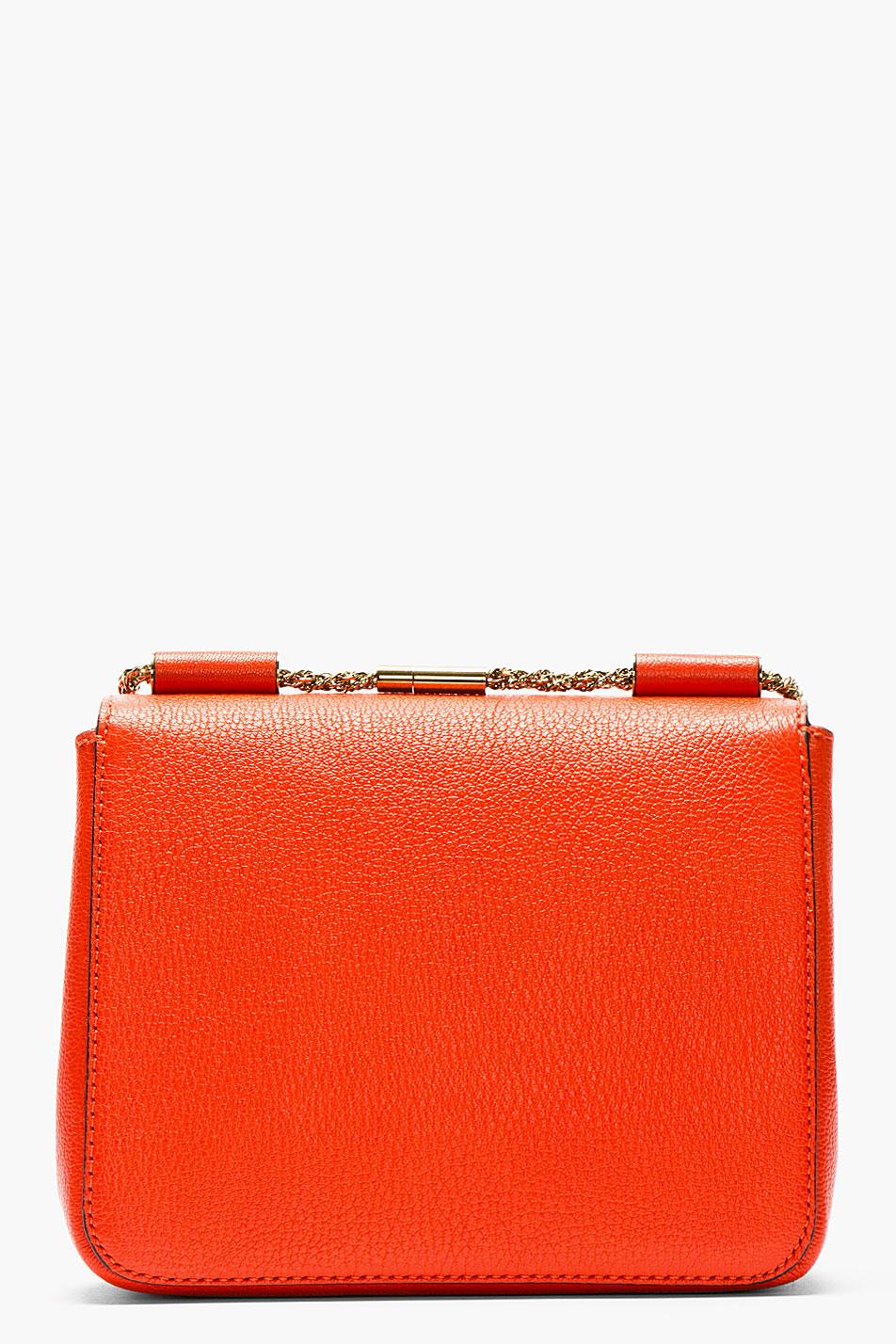 chloe cheap handbags - elsie small bag in grained leather