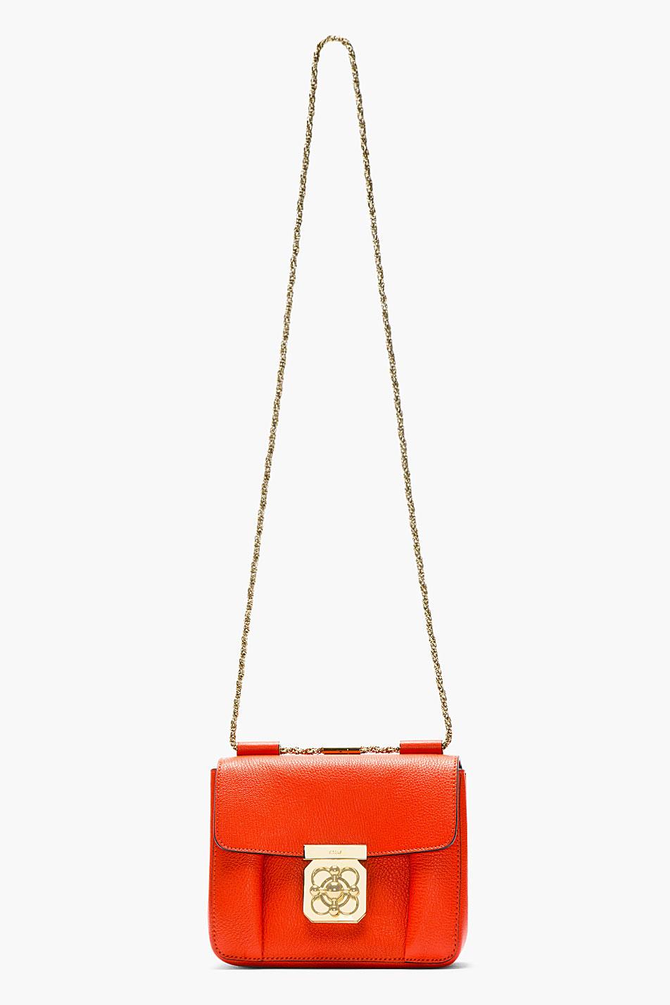 chloe handbags cheap - elsie bag in grained leather