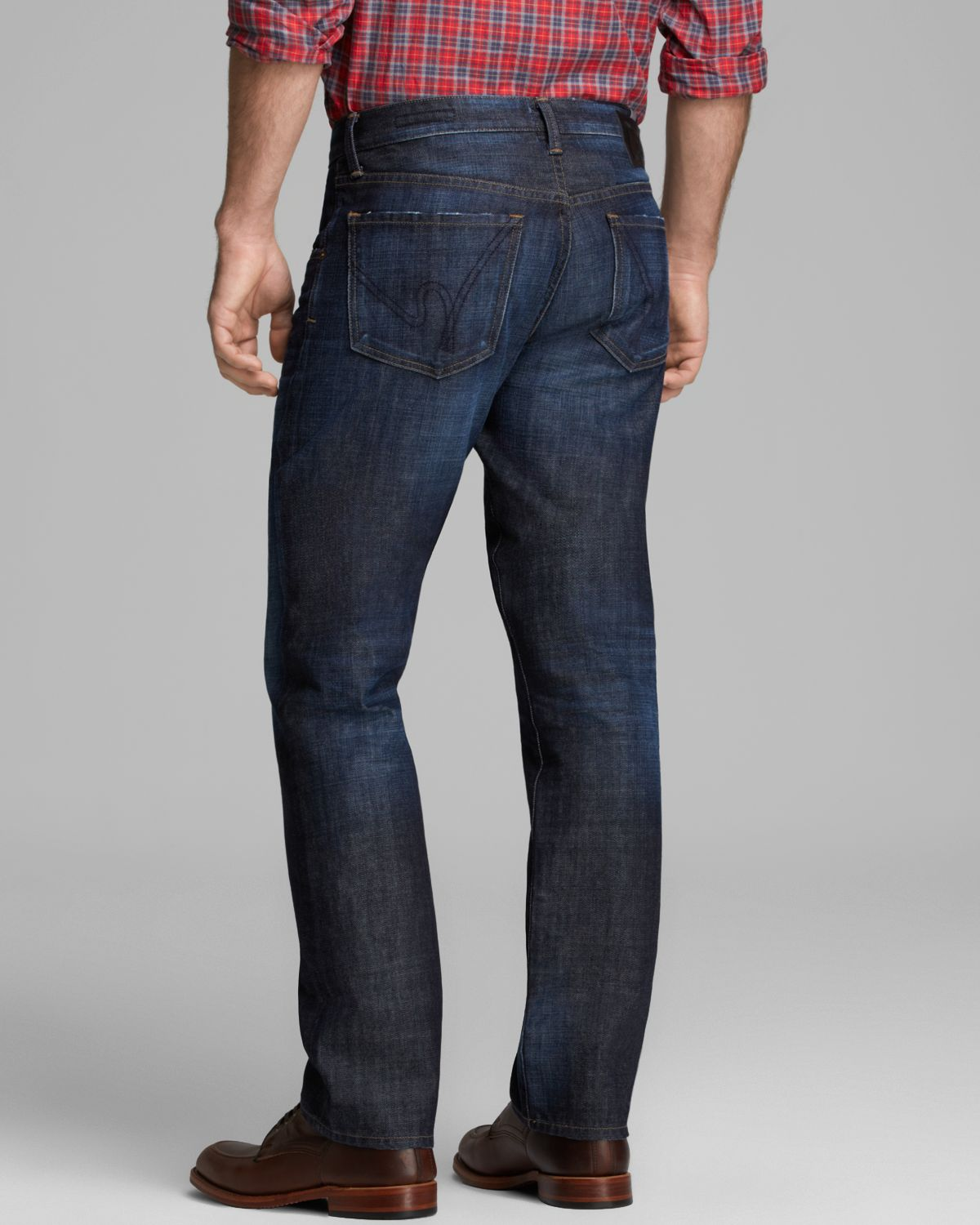 Citizens of humanity Jeans Perfect Straight Fit in Colt in Blue ...