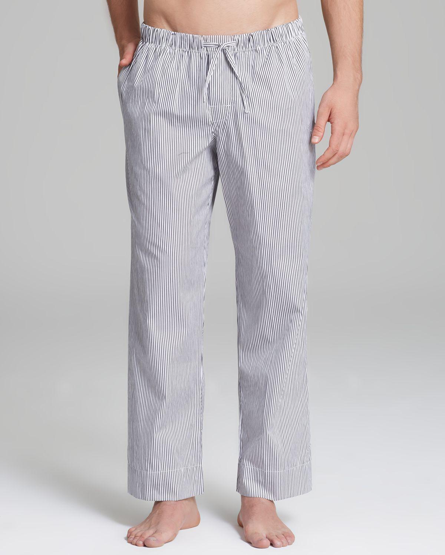 Emporio Armani Armani Underwear Woven Stripe Lounge Pants