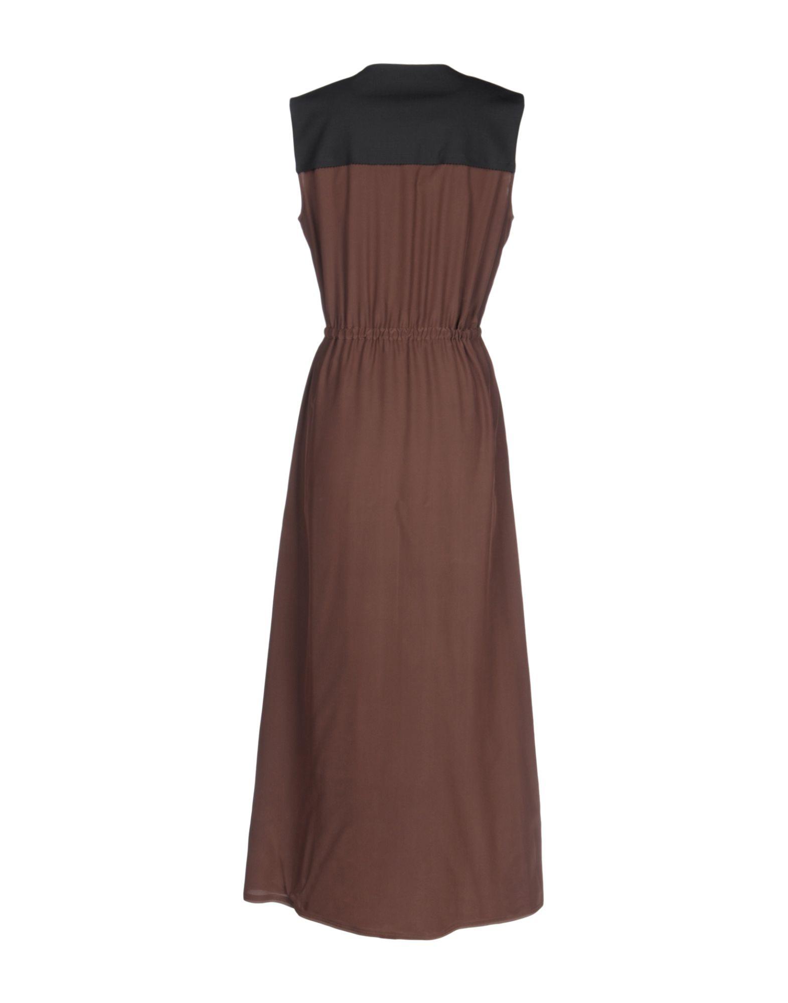 Fendi Long Dress in Black