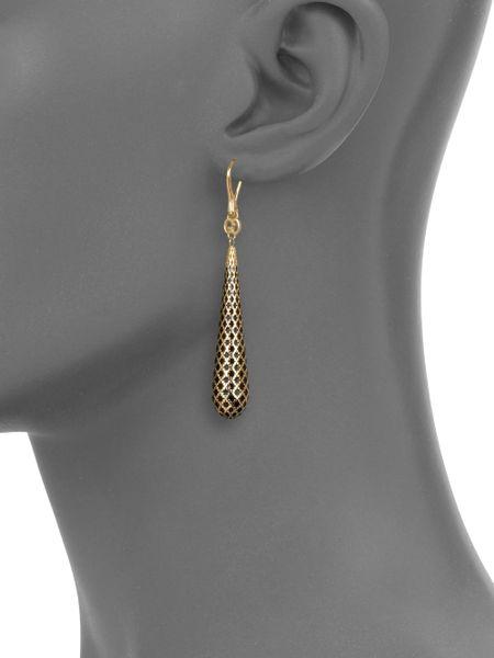 Gucci 18k Gold Earrings 18k Gold Enamel Earrings