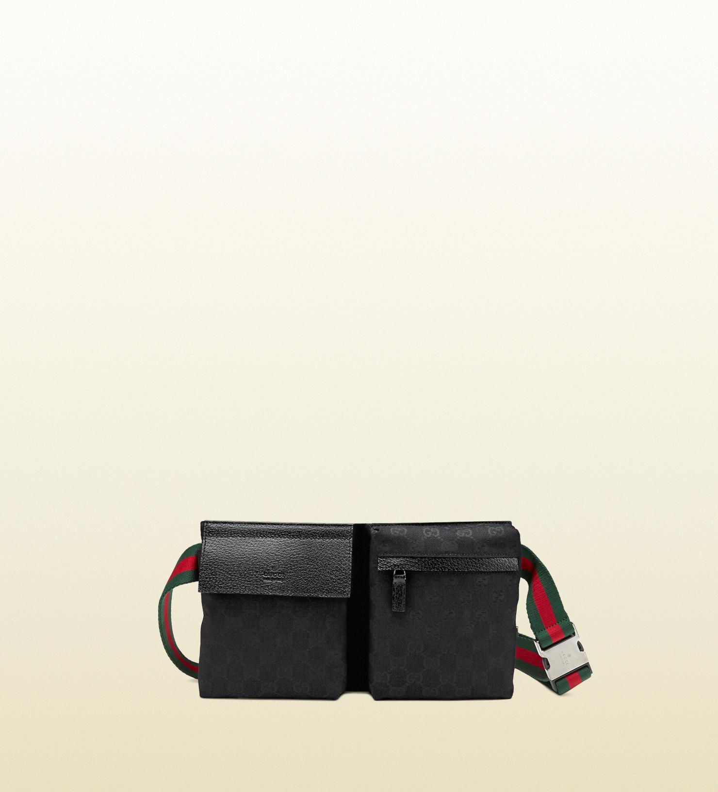 980f52b4a141 Gucci Original Gg Canvas Belt Bag in Black for Men - Lyst