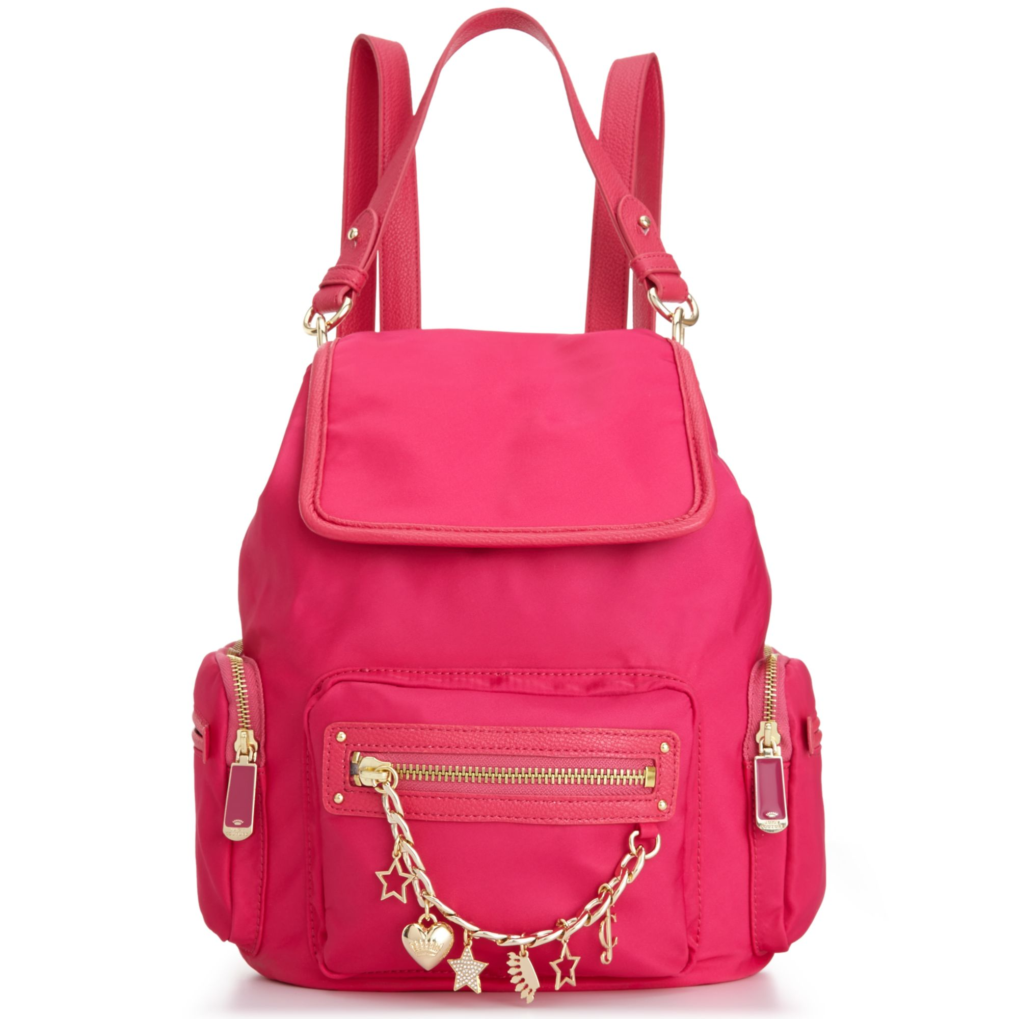 Juicy Couture Brentwood Nylon Backpack In Pink Lyst